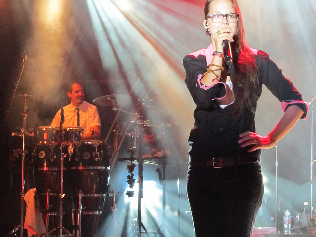 Stefanie Heinzmann in Merode