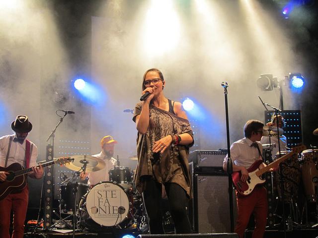 Stefanie Heinzmann in Münster