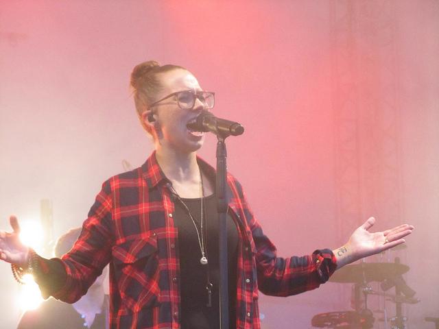 Stefanie Heinzmann in Bremerhaven