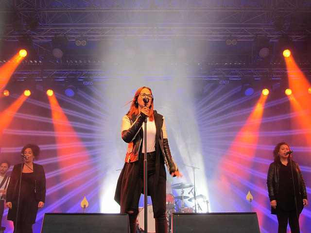 Stefanie Heinzmann in Xanten